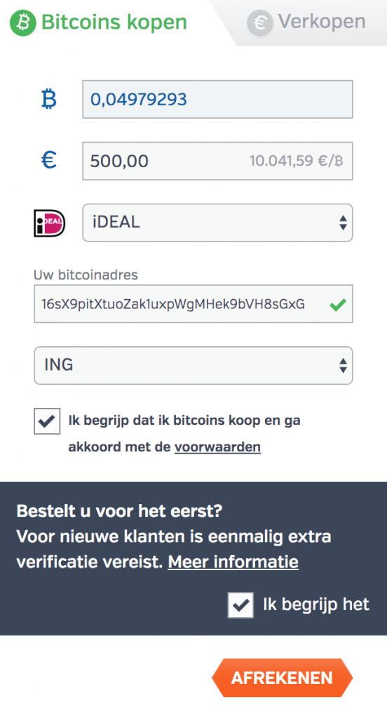 Bitcoins betalen Bitonic